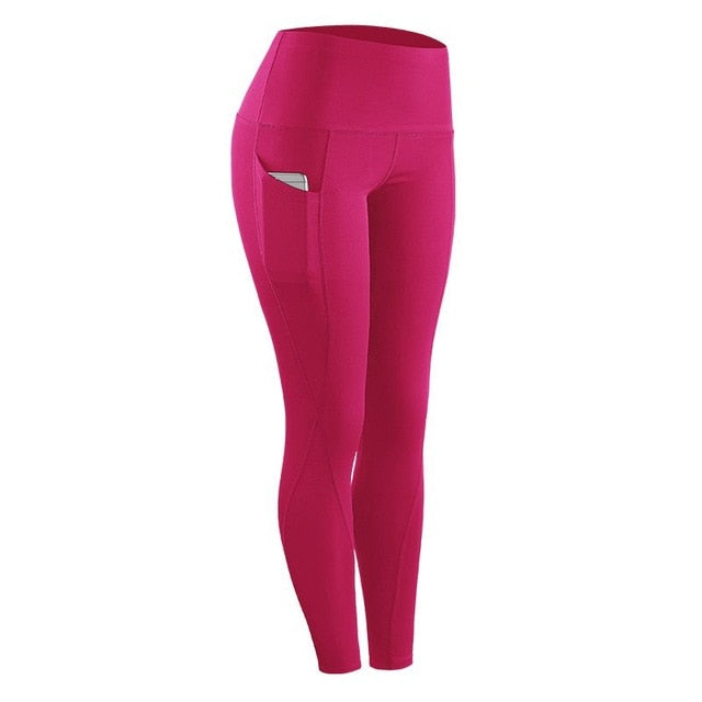 Women High Waist Leggings With Pockets - Mcburneyjunction