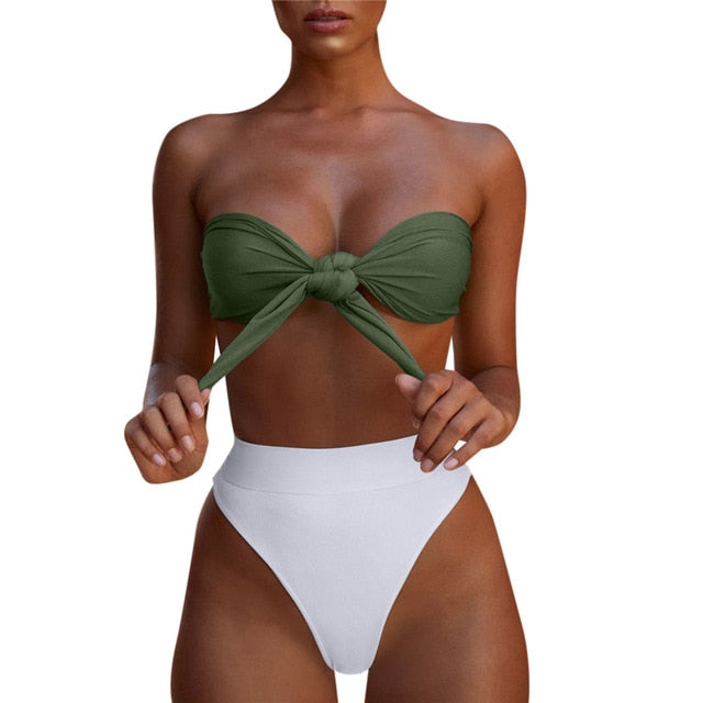 Brazilian High-Cut Swimwear - Mcburneyjunction