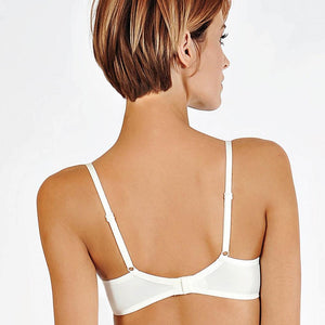 Semi Sheer Wired Bridal Bra - OneWorldDeals