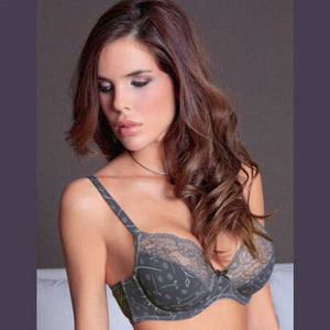 Semi Sheer Full Figure Underwire Bra Sassa Mode - Saikin-rettou