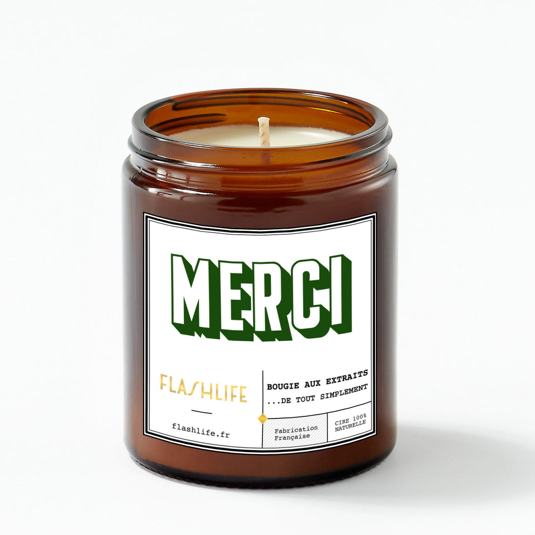 BOUGIE MERCI Green
