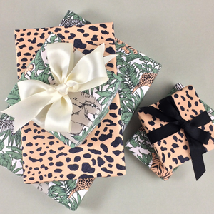 Jungle Adventure Wrap and Ribbon Set