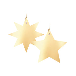 Load image into Gallery viewer, Star Light Gift Tag - Gold (2pk)