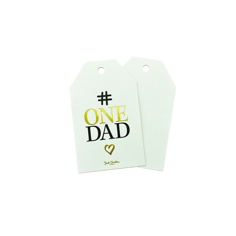 # One Dad Gift Tag