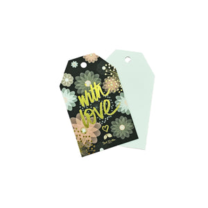 Floral With Love Gift Tag
