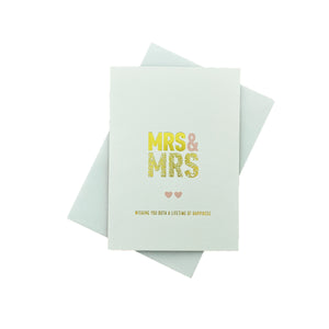 Load image into Gallery viewer, MRS + MRS Greeting Card