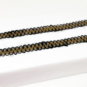Loop Edge Jute Ribbon - 10mm