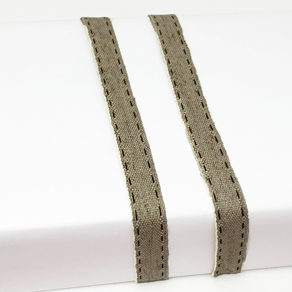 Load image into Gallery viewer, Muslin Stitch Ribbon- 15mm