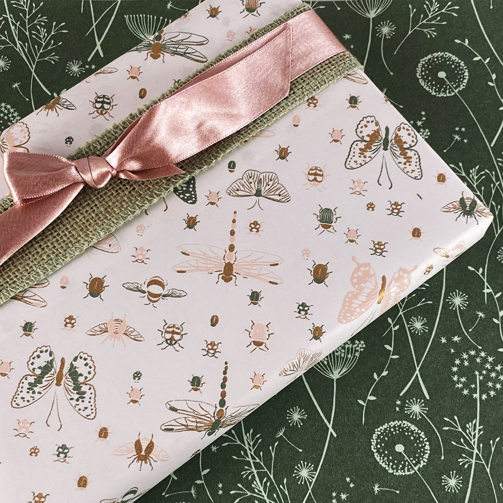 Double Satin Ribbon - Dusty Pink