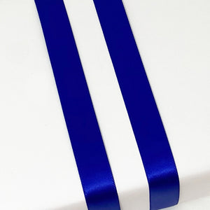 Load image into Gallery viewer, Double Satin Ribbon - Royal Blue