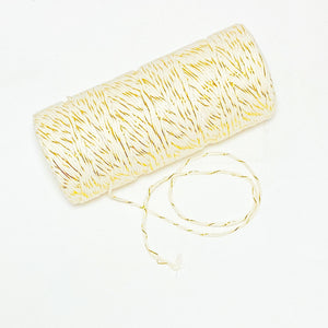 Baker's Twine - Metallic Gold