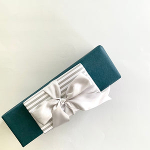 Load image into Gallery viewer, Double Satin Ribbon - Silver