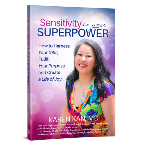 Sensitivity Is Your Superpower Book by Dr. Karen Kan