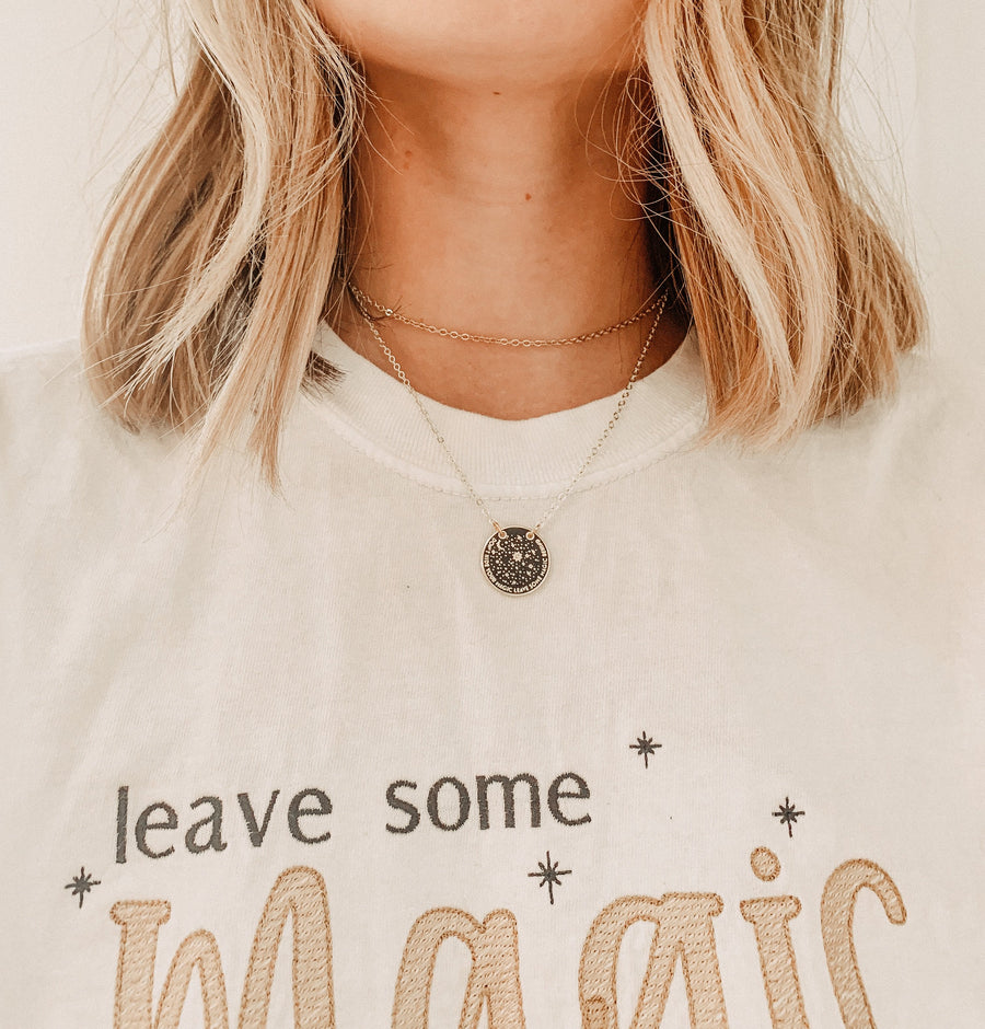 Stewart Avenue X Jo and Co - 'Leave Some Magic' necklace
