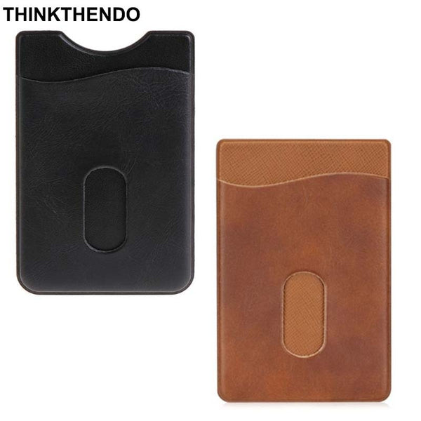 Leather Card Holder Sticker 3M Adhesives