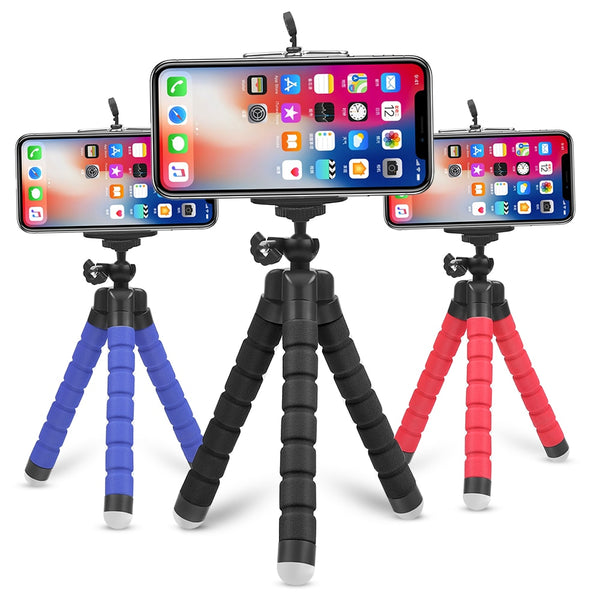 Mini Flexible Sponge Octopus Tripod for Smartphone