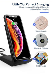 Coolreall Qi Wireless Charger, PowerWave Stand