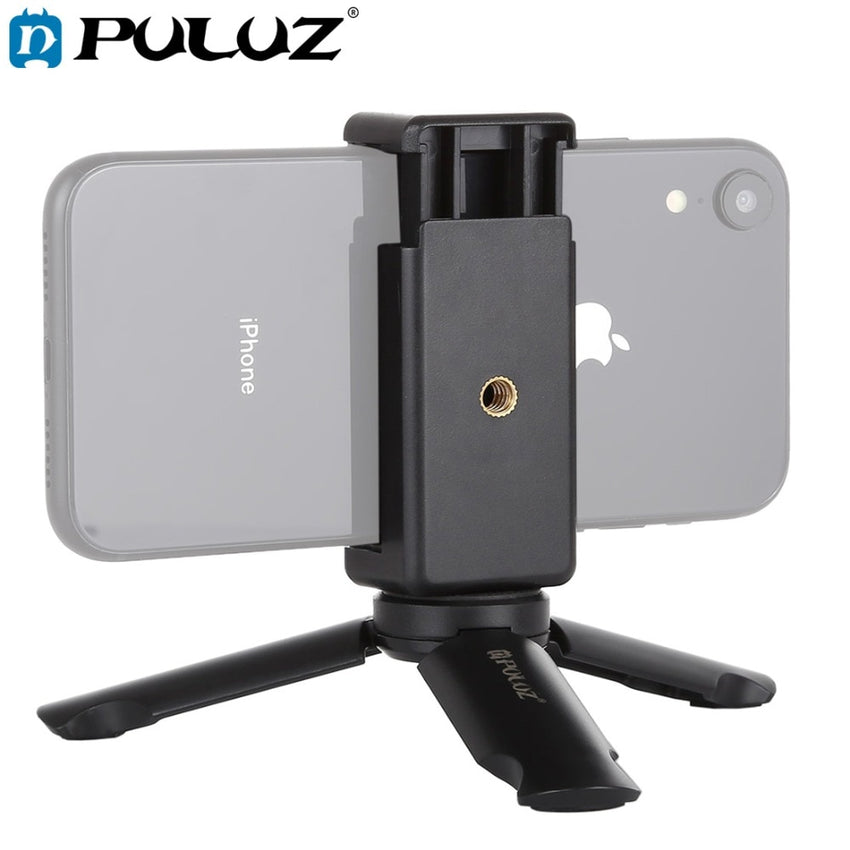 Mini Portable Folding Plastic Stand Tripod Phone
