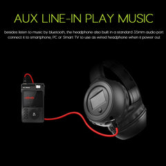 Stereo Bluetooth Headphones with Display