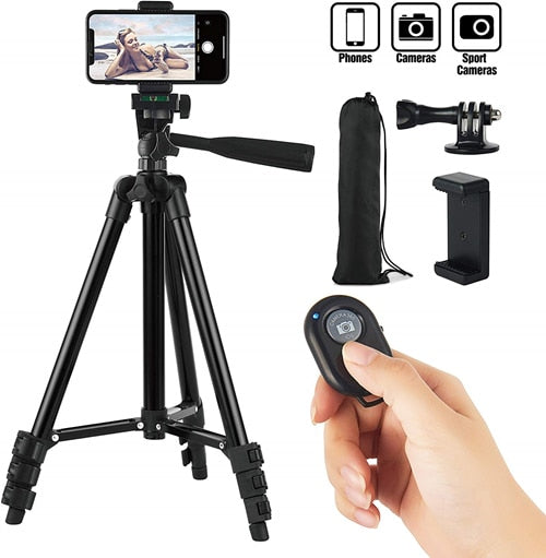 Smartphone Tripod Cellphone and Portable Stand Holder