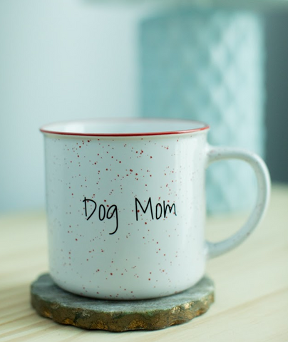 Dog Mom Ceramic Mug - Made in Canada