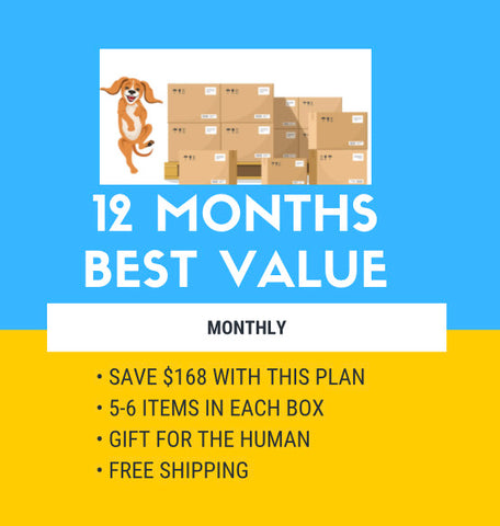 12 MONTH SUBSCRIPTION - BEST VALUE ( $168.00 IN SAVINGS ) - BILLED ANNUALLY -EXTRA BONUS BOX