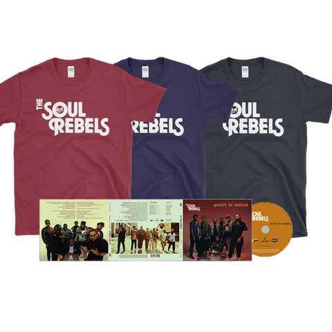 Poetry In Motion CD + T Shirt Bundle