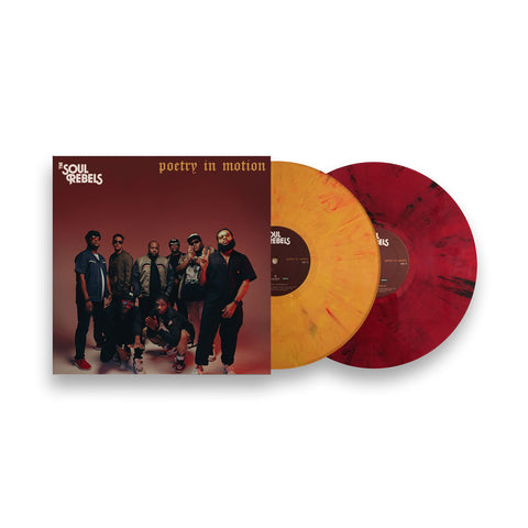 LIMITED EDITION - 'Poetry In Motion' - Single Splatter Colored Vinyl