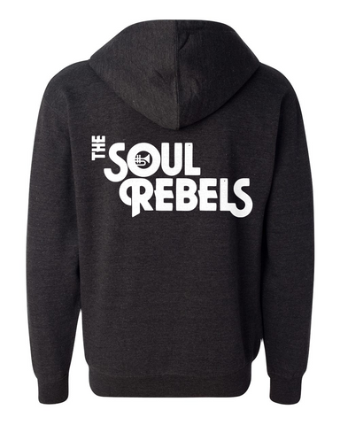 The Soul Rebels Unisex Logo Zip Up Hoodie