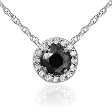 Load image into Gallery viewer, Black Diamond Necklace