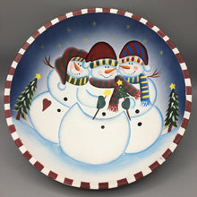 Load image into Gallery viewer, Snowman Christmas Bowl