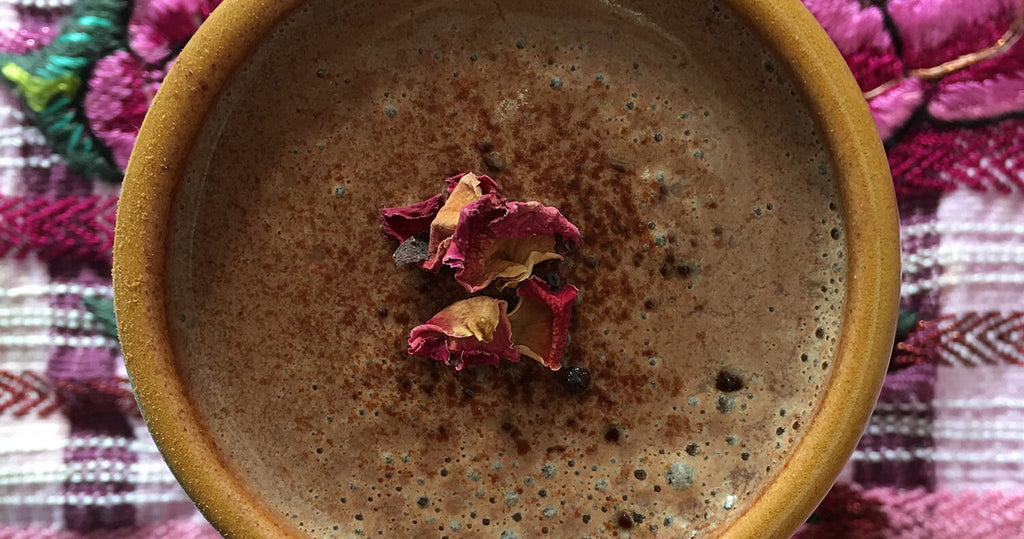 Rose Activated Cacao Brew