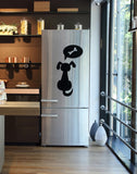 Frideco dog's Dream Giant Size decorative refrigerator magnet