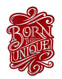 'Unique' Big Size Decorative Fridge Magnet (Red Color) 47cm X 68cm
