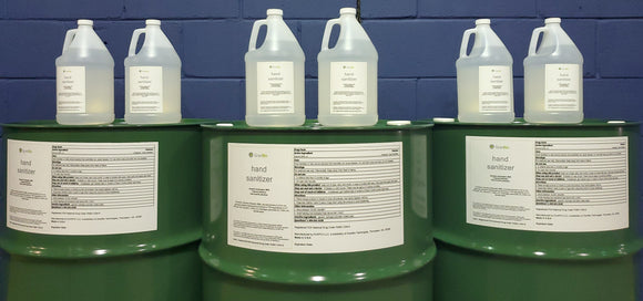 Hand Sanitizer - 50 gallon drum - Alcohol Solution