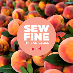 Sew Fine Thread Gloss | Peach
