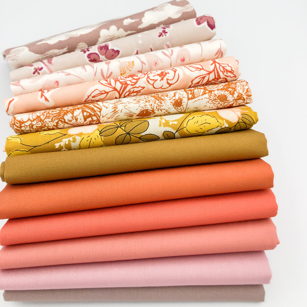 Fat Quarter Bundle | Fall Flowers
