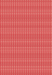 Mountain in Warm Red | Warp & Weft by Alexia Marcelle Abegg