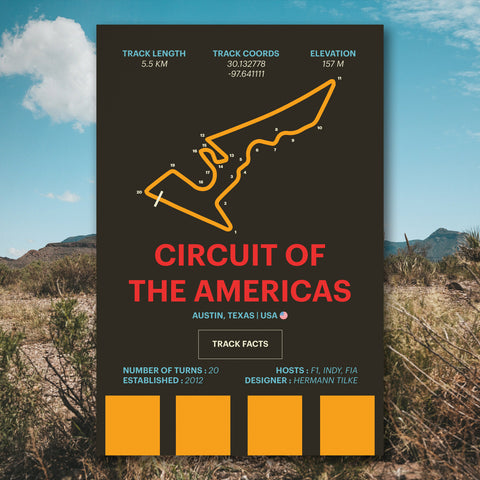 Circuit of the Americas Wall Art