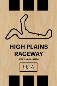 High Plains Raceway - Pista Series - Wood