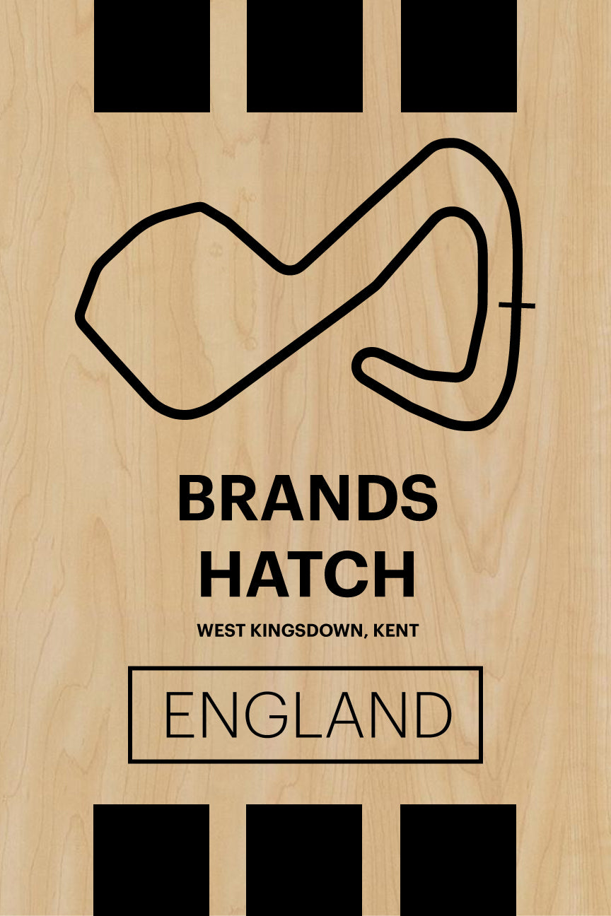 Brands Hatch - Pista Series - Wood