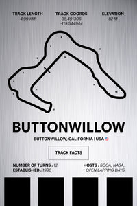 Buttonwillow - Corsa Series - Raw Metal
