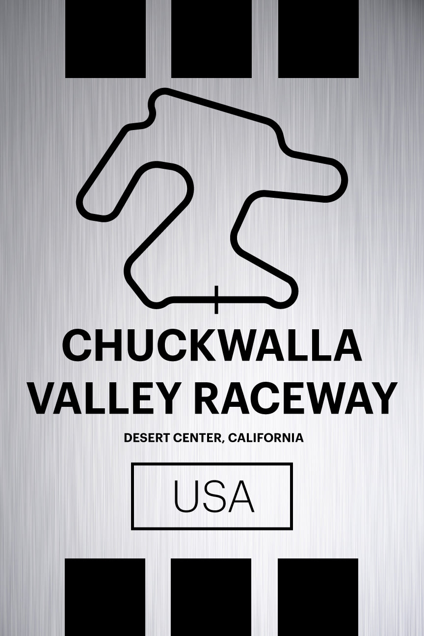 Chuckwalla Valley Raceway - Pista Series - Raw Metal