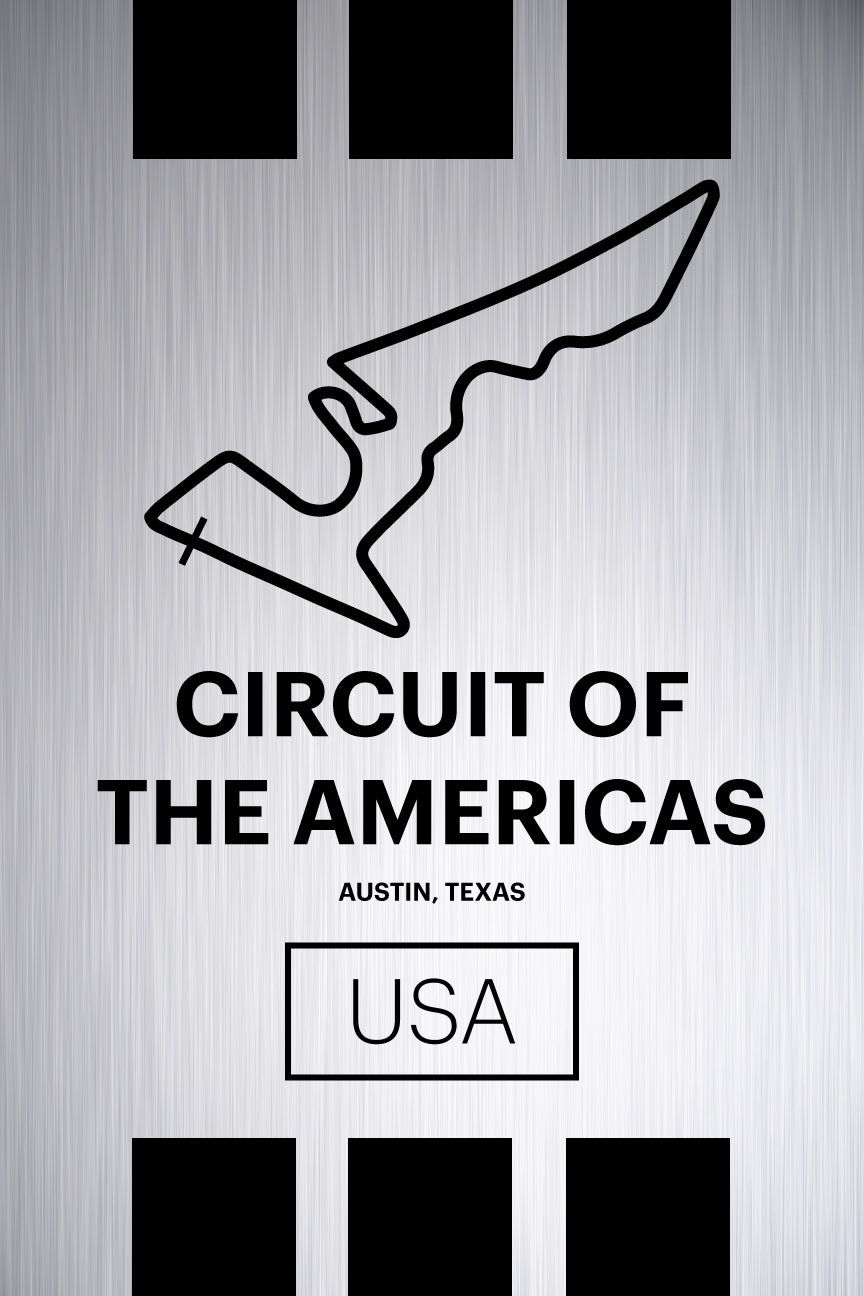 Circuit of the Americas - Pista Series - Raw Metal