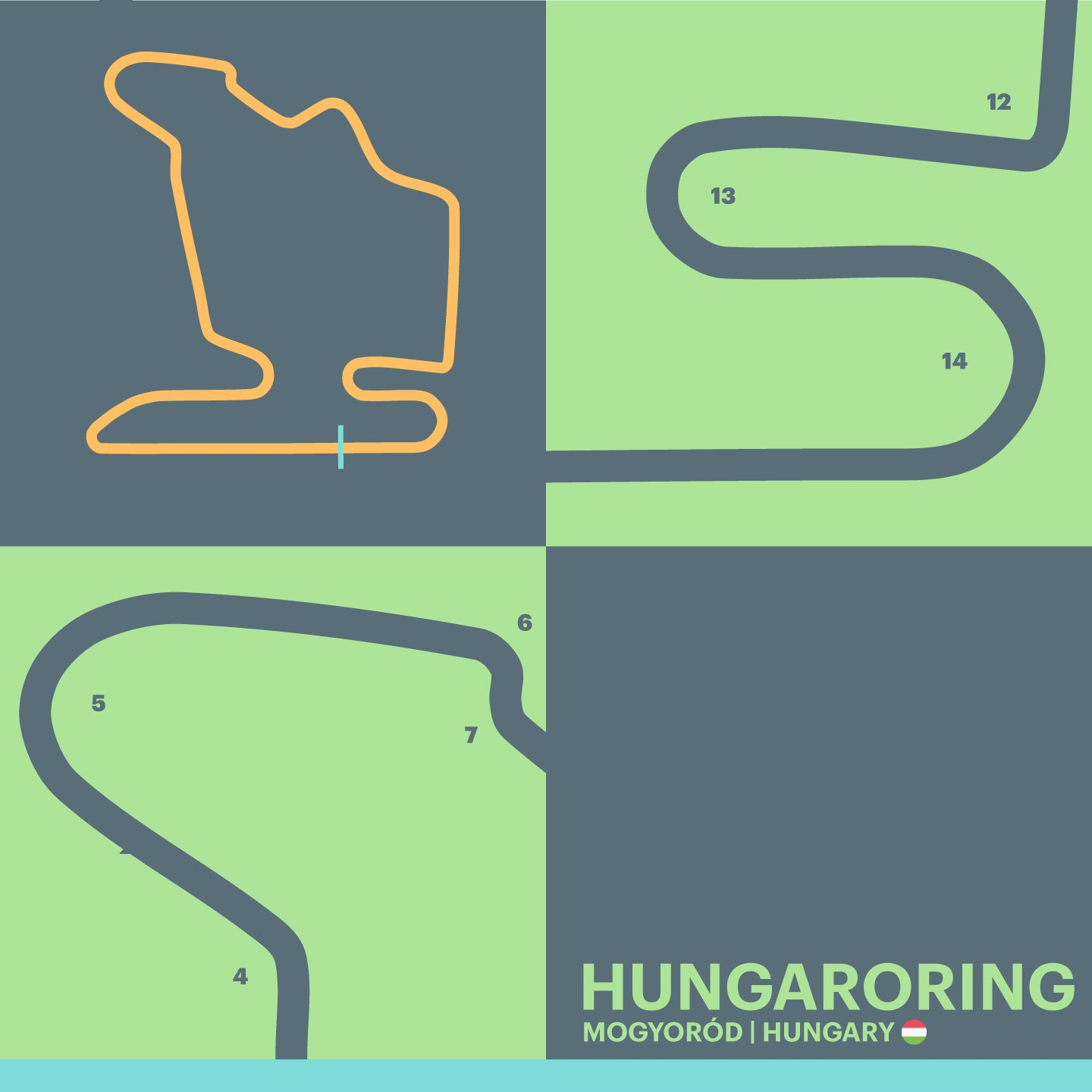 Hungaroring - Garagista Series