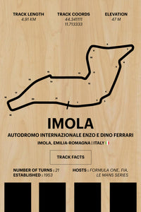 Imola - Corsa Series - Wood