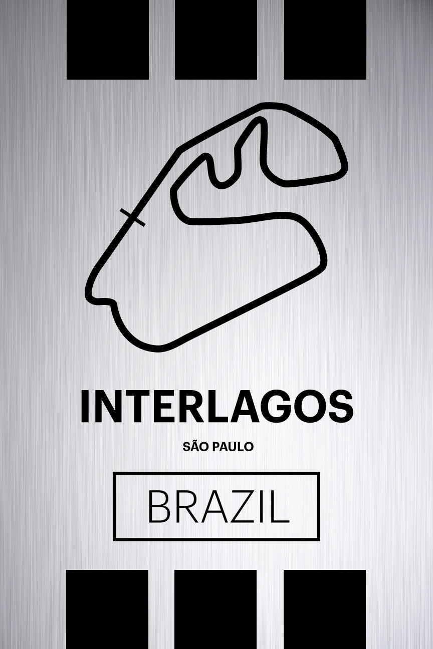 Interlagos - Pista Series - Raw Metal