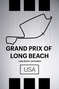 Grand Prix of Long Beach - Pista Series - Raw Metal