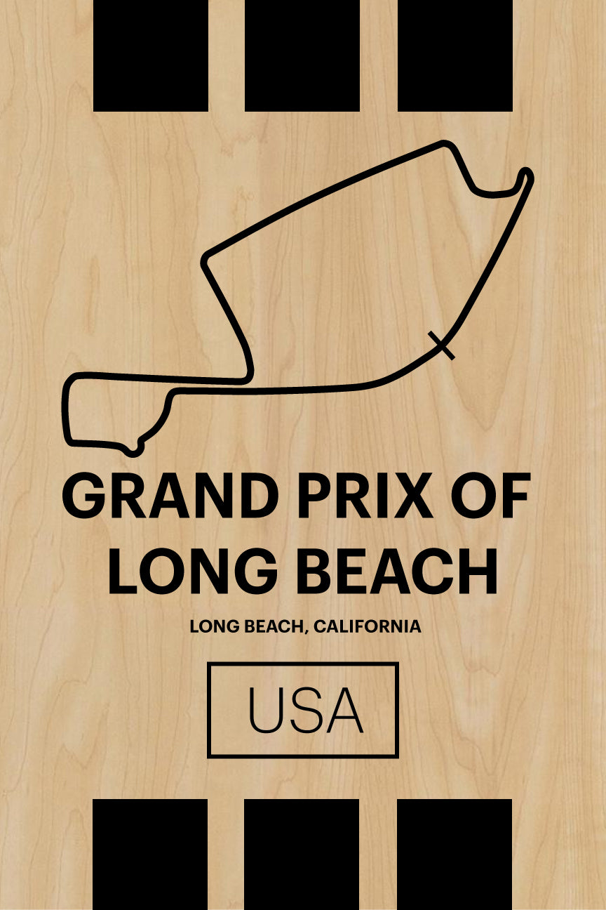 Grand Prix of Long Beach - Pista Series - Wood