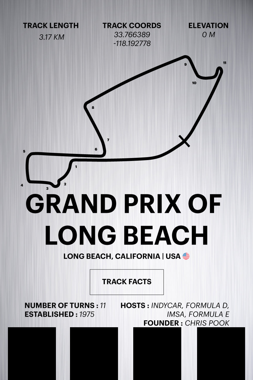 Grand Prix of Long Beach - Corsa Series - Raw Metal